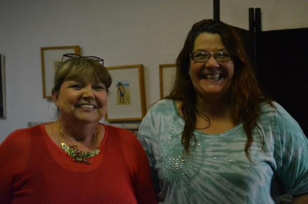 Seaside Studios proprietors Gayle Fleury and Regina Fernandez