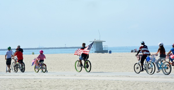 Long Beach 45th of July Bike Parade